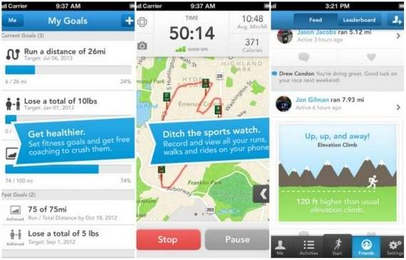 Runkeeper  para Android